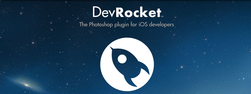 Homepage of the dev Rocket Photoshop plugin